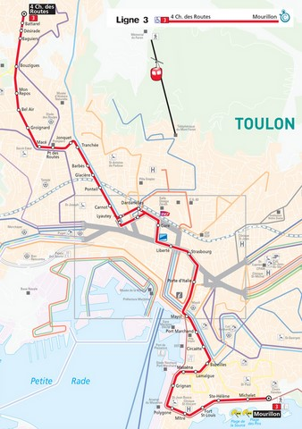 carte bus Toulon