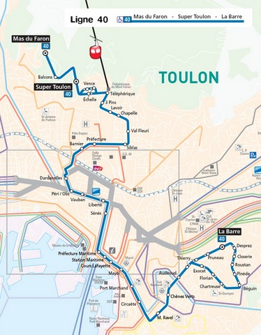 plan bus toulon